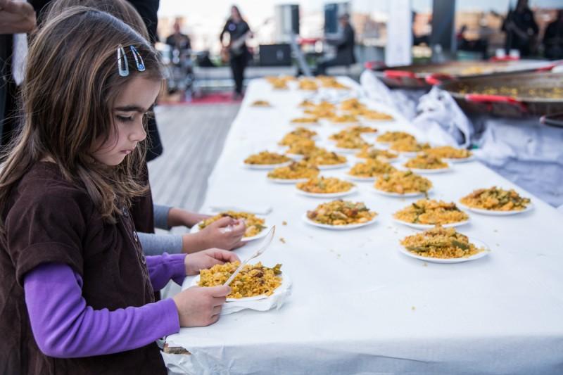 Paella valenciana saludable para el Diabetes Experience Day 2015