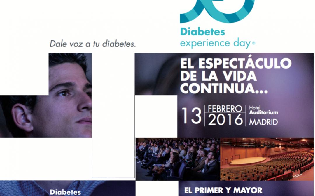 Presentamos el programa del Diabetes Experience Day 2016
