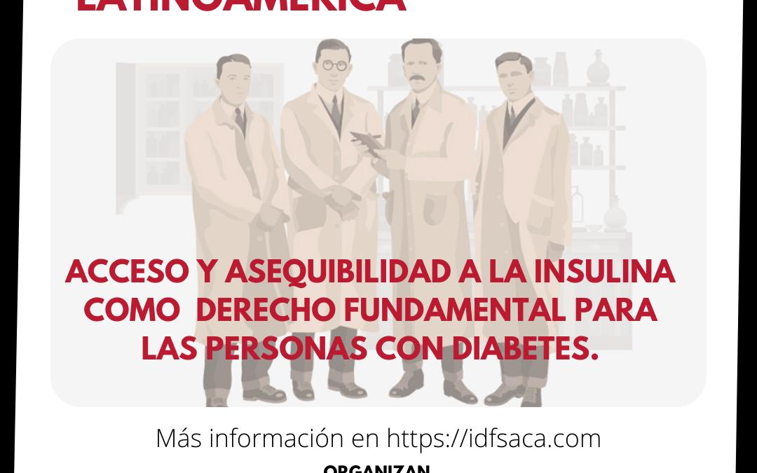 El Diabetes Experience Day Latinoamérica y la IDF Región Saca unen fuerzas para hablar de la insulina